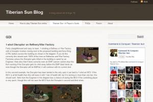 The Tiberian Sun blog