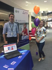 IT services welcome week CCCU 2016
