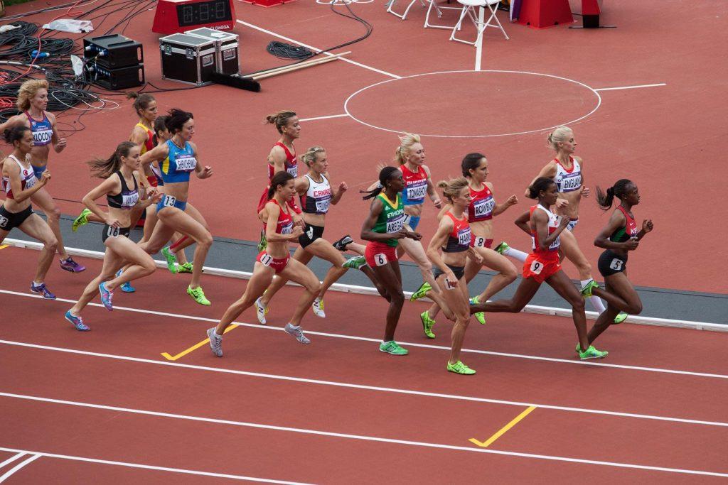 Women's 1500m, London 2012