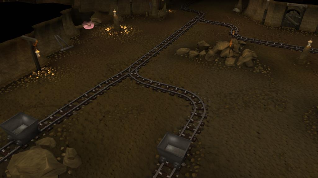 The Dwarven mines
