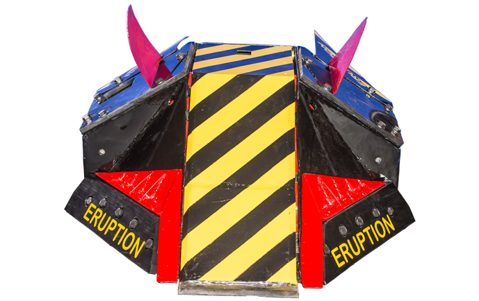 Eruption, the winner of Robot Wars S3