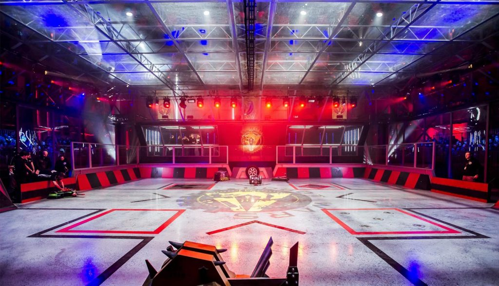 The Robot Wars arena
