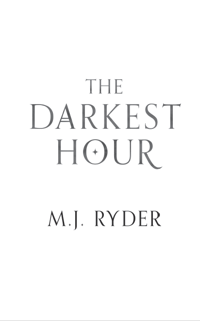 'The Darkest Hour' by M.J. Ryder, title page screenshot, (c) M.J. Ryder 2018.