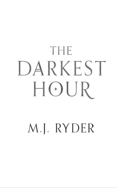'The Darkest Hour' by M.J. Ryder, title page screenshot, (c) M.J. Ryder 2018.
