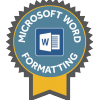 Lancaster University Digital Skills Certificate: MS Word Formatting