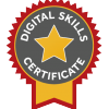 Lancaster University Digital Skills Certificate awarded to M.J. Ryder, December 2018