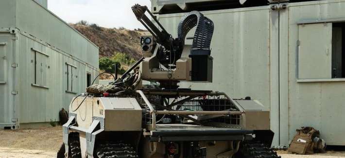 Multipurpose unmanned tactical transport (MUTT), used by the US Marine Corp