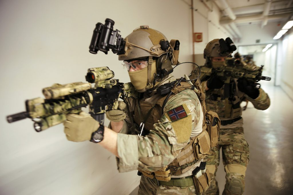 Augmented soldiers, NORNAVSOC exercise 2014
