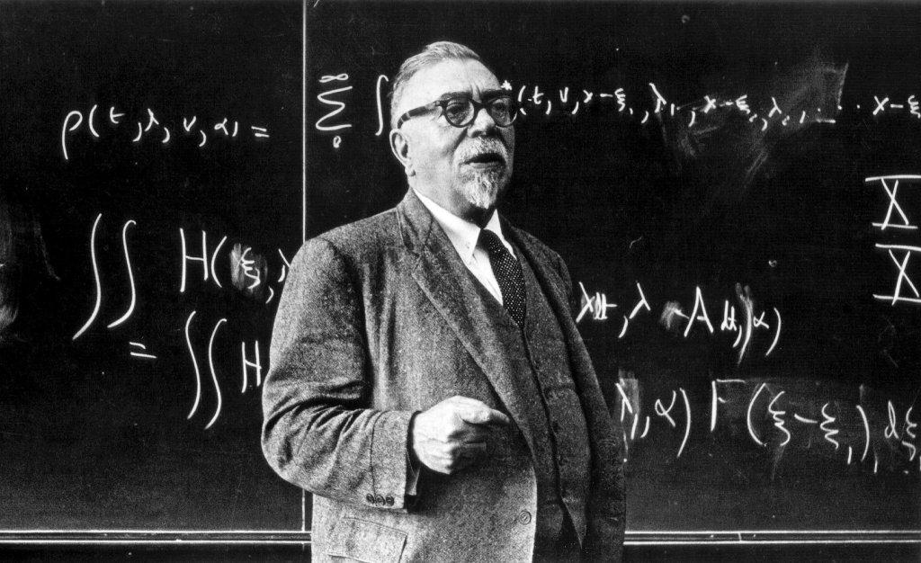 Norbert Wiener, father of cybernetics