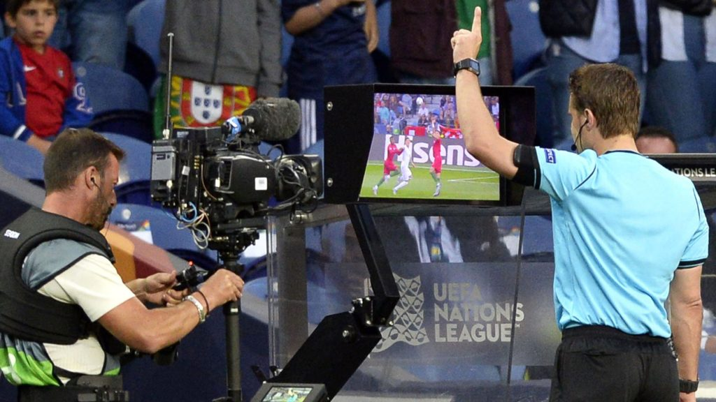 The VAR football controversy.
