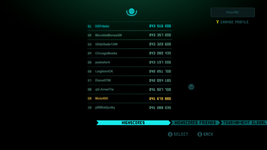 Sky Force Anniversary, Mole40k, top 10 global leaderboard, Xbox One